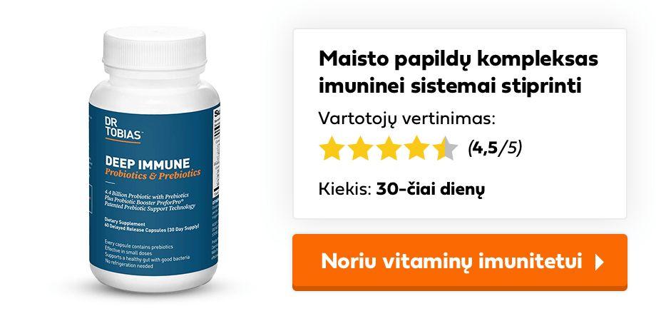 vitaminai imunitetui
