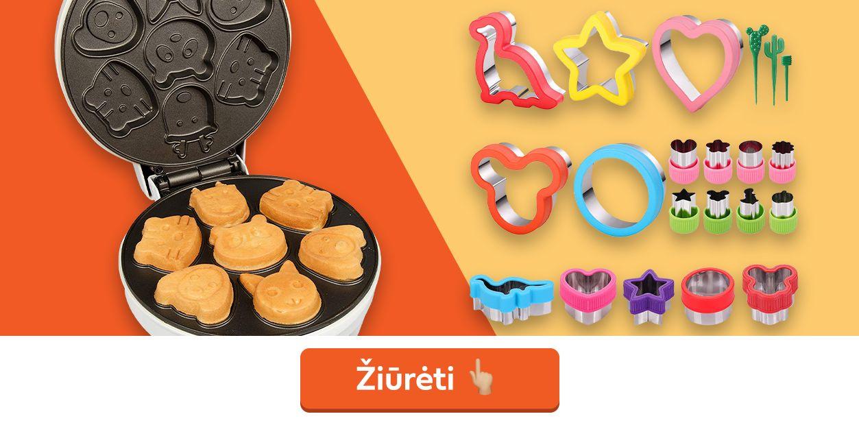 sausainių formelės