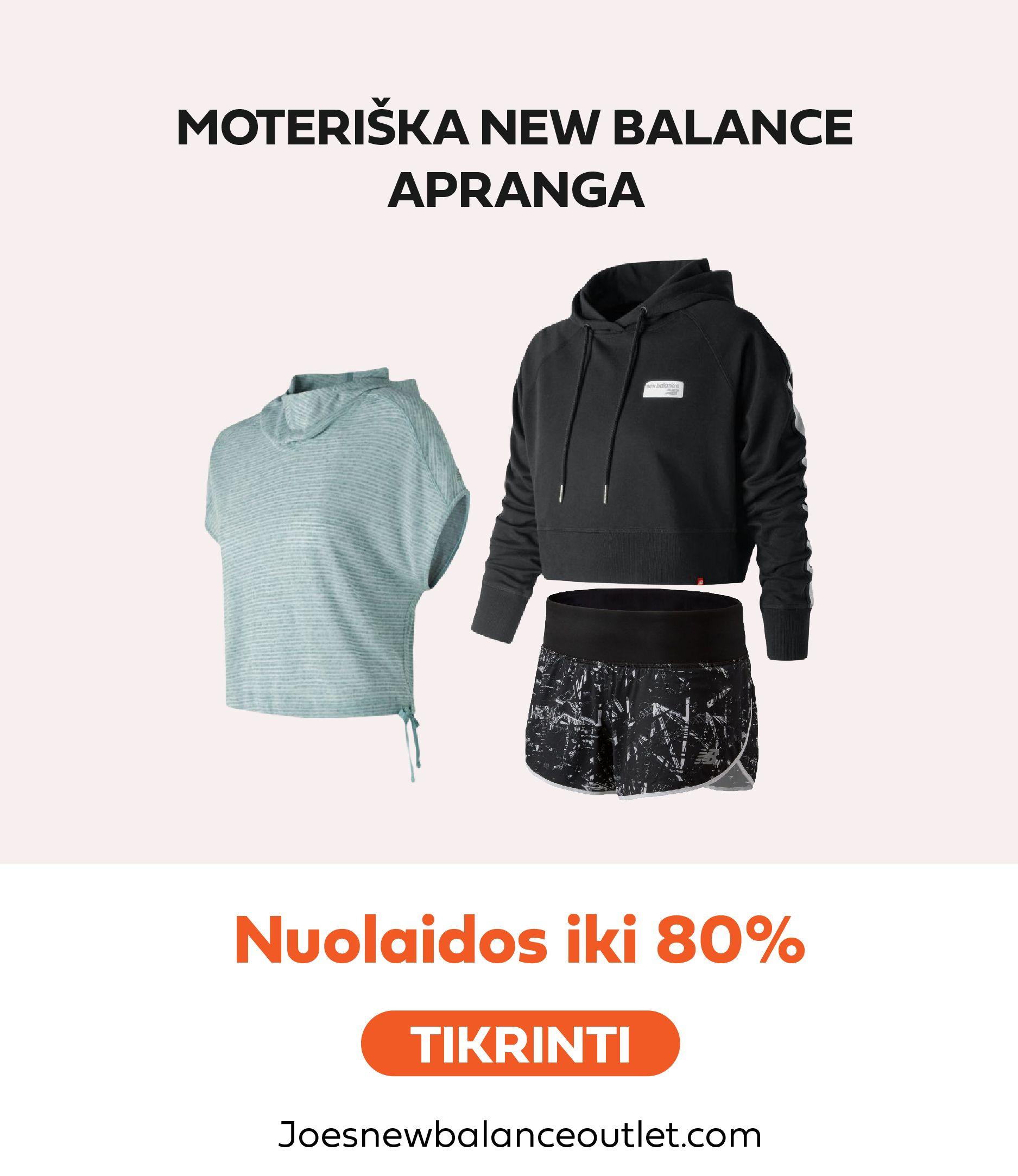 new balance ispardavimas