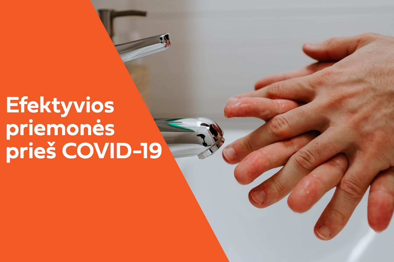 Asmens higienos ir dezinfekcinės priemonės iš JAV