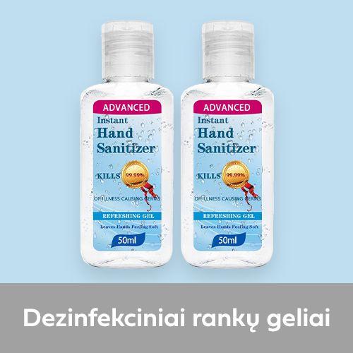 dezinfekciniai ranku geliai