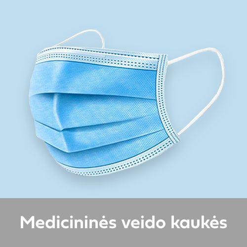 medicinines veido kaukes
