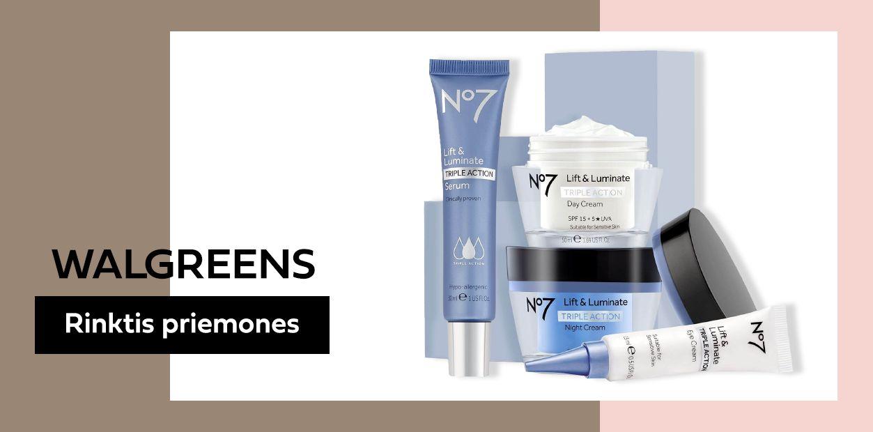 walgreens odos prieziuros kosmetika