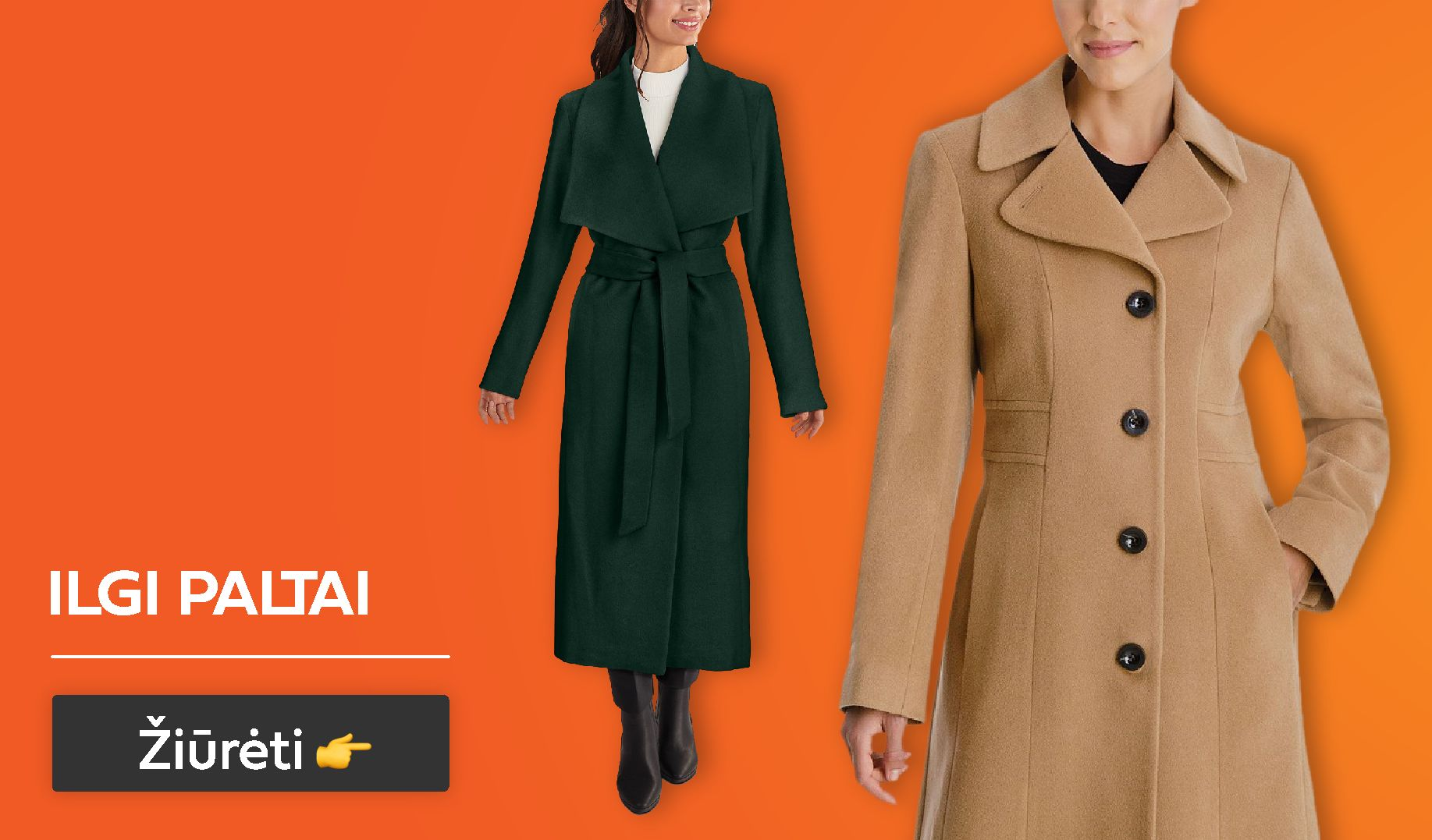 rudeniniai paltai