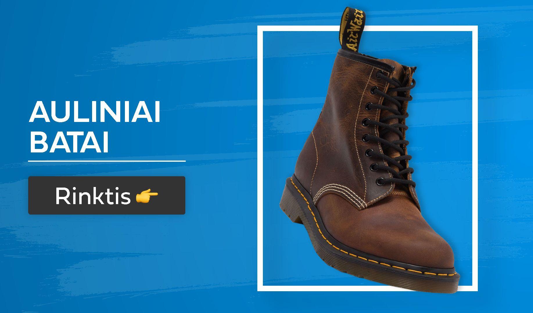 rudeniniai batai vyrams