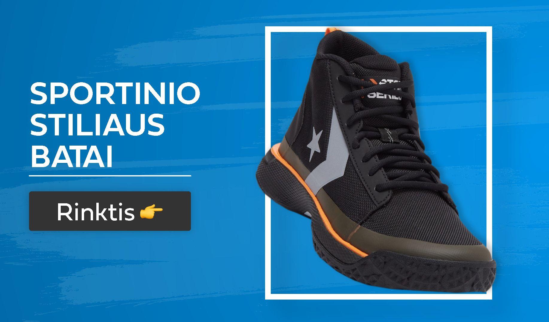 sportinio stiliaus batai vyrams