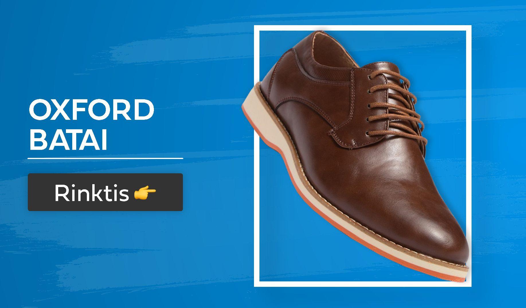 oxford batai vyrams
