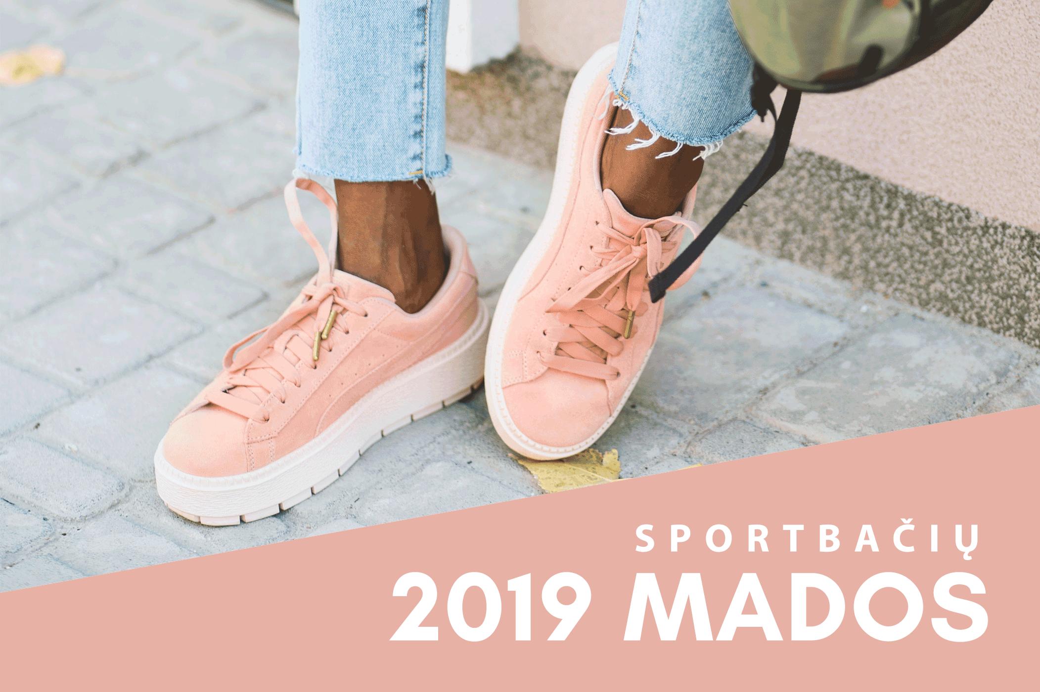 Geidžiamiausi 2019 metų sportbačiai: ką šiemet renkasi madingiausi?