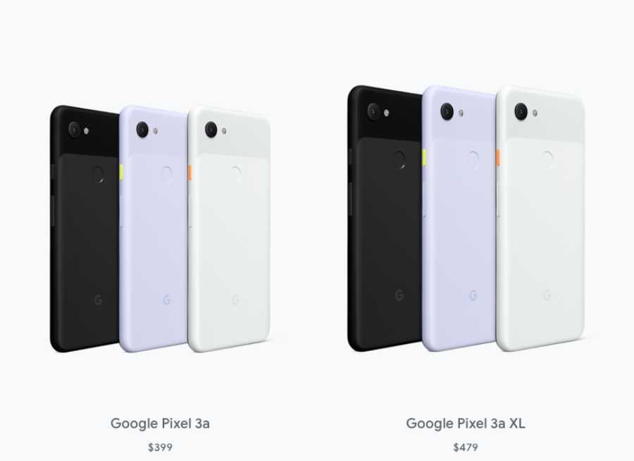 Google Pixel a3 ir Google Pixel a3xl