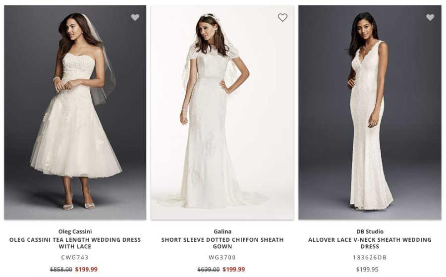 David's Bridal  vestuvines sukneles is amerikos