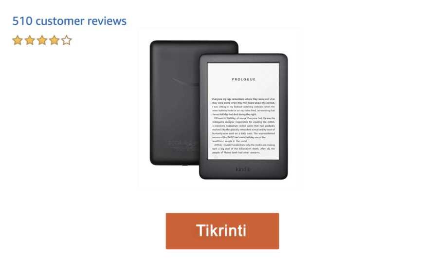 kindle elektroninė knyga