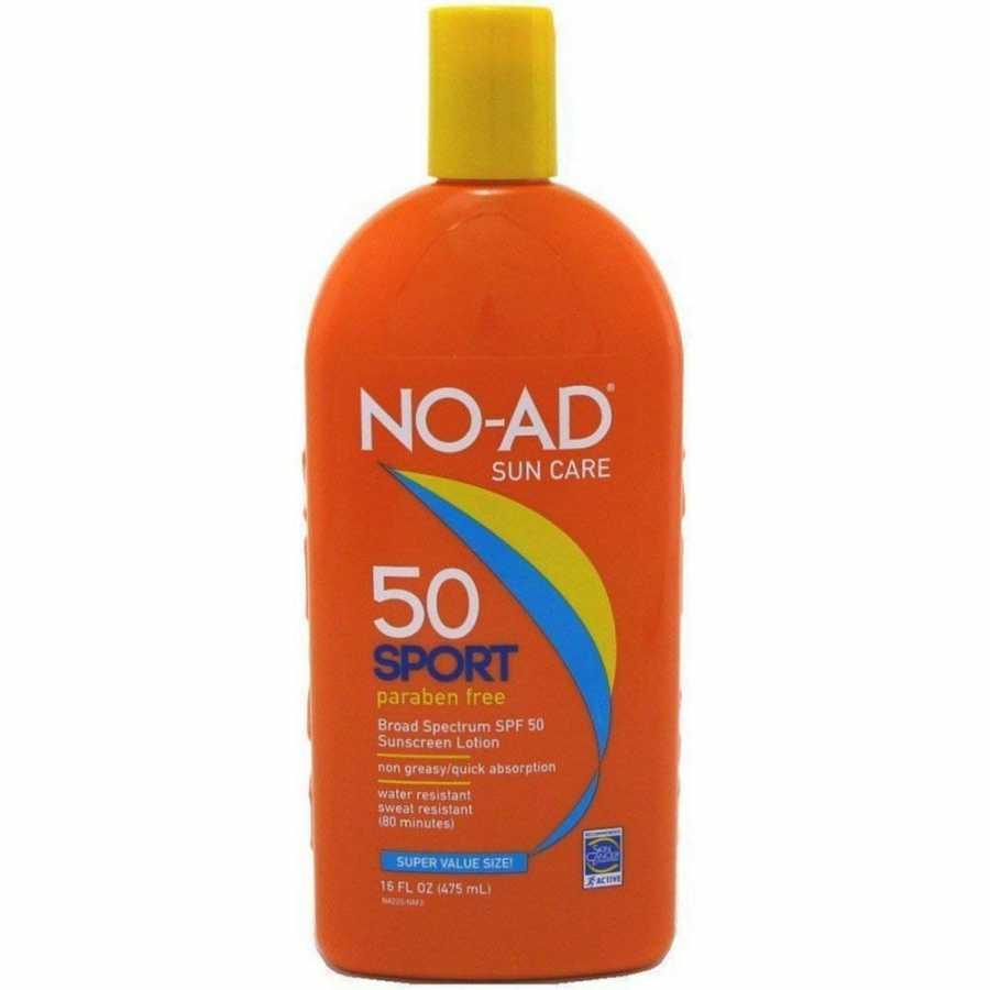 kremas nuo saulės NO-AD Sport Active Sunscreen Lotion, SPF 50