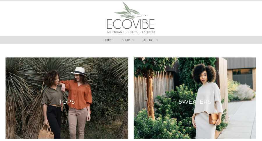 ecovieapparel el svetainė