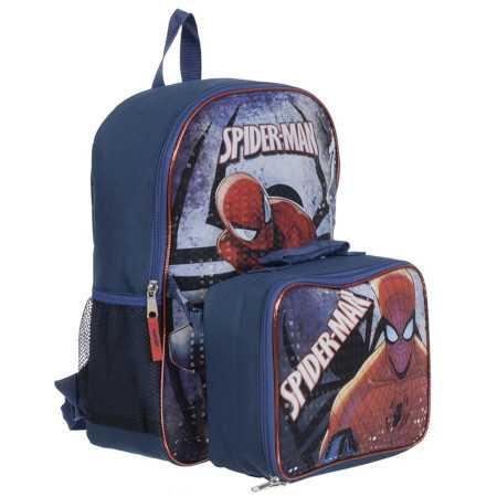 mokyklinė kuprinė su spiderman