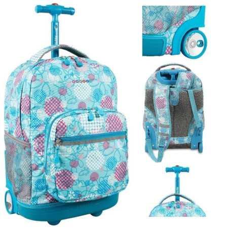 mokyklinė kuprinė vaikams - lagaminas