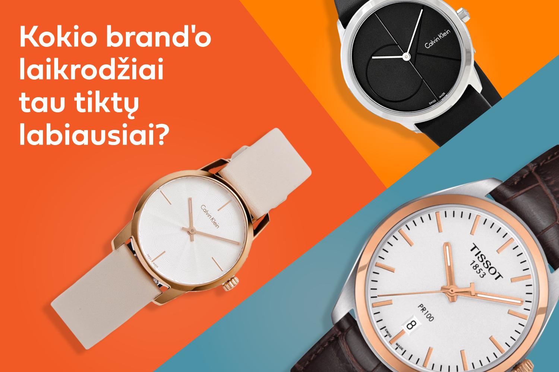 Testas: koks laikrodis atitinka tavo asmenybę?