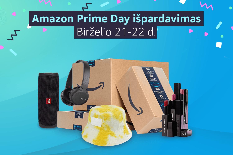 Amazon Prime Day: dvi dienos - tūkstančiai nuolaidų!