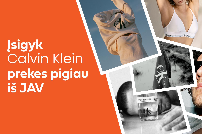 Platus Calvin Klein pasirinkimas itin mažomis kainomis