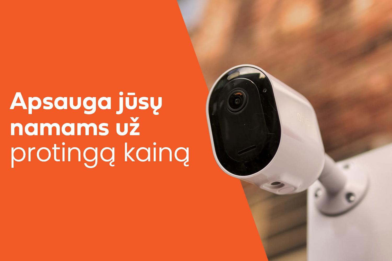 Vaizdo stebėjimo kameros namams, kur įsigyti pigiausiai