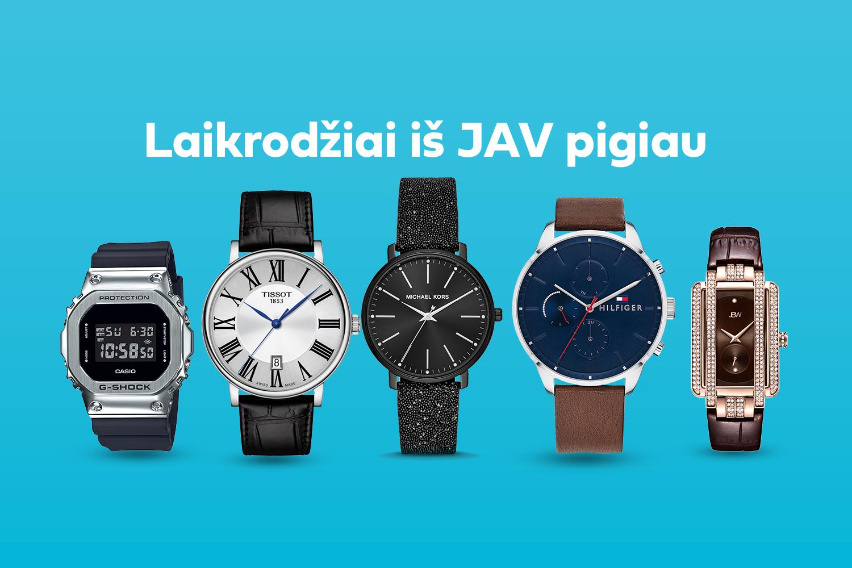 Laikrodžiai, kuriems lietuviai negali atsispirti
